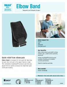 Elbow bands for elbow pain relief
